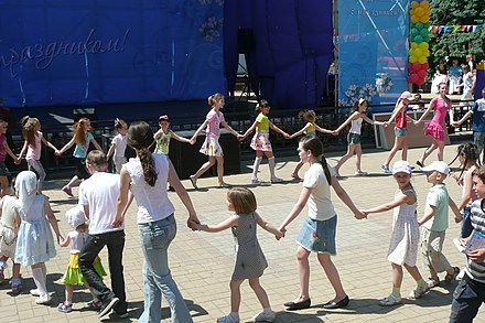 Children's Day in Donetsk, Ukraine, 2011 2011. Den' zashchity detei v Donetske 174.jpg