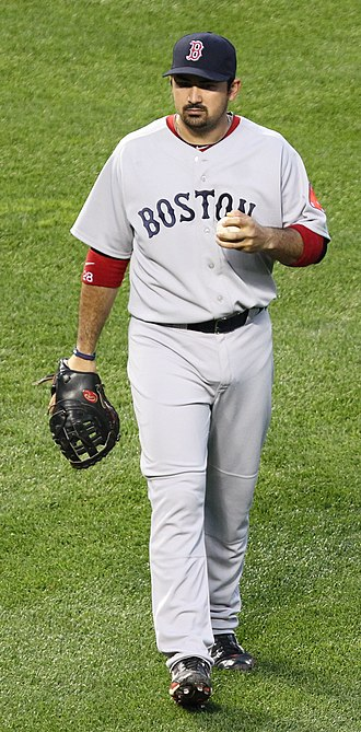 Adrian Gonzalez - Gonzalez playing with the Boston Red Sox in 2011