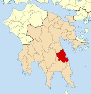 South Kynouria - Image: 2011 Dimos Leonidiou