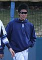 20120401 Tohru Komura pitcher of the Yokohama DeNA BayStars, at Yokosuka Stadium.JPG