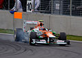 2012 Canadian Grand Prix Nico Hulkenberg Force India Mercedes VJM05.jpg