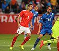 2014-05-30 Austria - Iceland football match, Stefan Ilsanker 0206.jpg