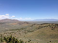 "2014-06-13 12 23 46 View east-northeast from the summit of ""E"" Mountain in the Elko Hills of Nevada.JPG"