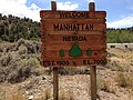 2014-07-30 13 30 59 Sign at the east entrance to Manhattan, Nevada.JPG