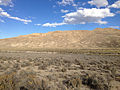 2014-10-20 15 49 11 Distant view of the California Trail - Thousand Springs Creek marker along Wilkins-Montello Road (Elko County Route 765) about 14.7 miles east of U.S. Route 93 in Elko County, Nevada.JPG