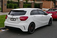 Mercedes benz a class wikipedia the free encyclopedia for Mercedes benz hatchback models