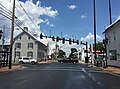 2016-07-19 13 53 47 View north along U.S. Route 11 (Congress Street) at U.S. Route 211 (Old Cross Road) in New Market, Shenandoah County, Virginia.jpg