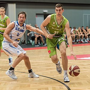Vlatko Čančar - Image: 20160814 Basketball ÖBV Vier Nationen Turnier 3906