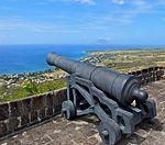 2016 02 FRD Caribbean Cruise Brimstone Hill Fortress Cannon S0137034.jpg
