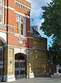 2016 Woolwich, Beresford Square, main gatehouse 5.jpg