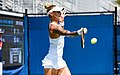 2017 US Open Tennis - Qualifying Rounds - Viktoriya Tomova (BUL) def. Polona Hercog (SLO) (36916573471).jpg