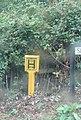 2018-08-09 Fire hydrant post, Slaughter Road, Gimingham.JPG