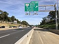 2018-10-19 15 12 10 View east along Interstate 66 at Exit 60 (Virginia State Route 123, Fairfax, Vienna) in Oakton, Fairfax County, Virginia.jpg
