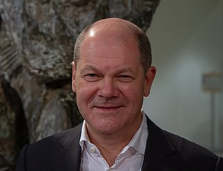 Olaf Scholz German politician, federal minister of finance and vice chancellor