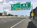 2019-05-29 15 22 52 View north along Interstate 95 and east along the Capital Beltway (Interstate 495) at Exit 176A (Virginia State Route 241 South, Virginia State Secondary Route 611 South, N Kings Highway, Telegraph Road) in Rose Hill, Virginia.jpg