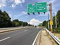 2019-08-20 16 33 55 View north along U.S. Route 1 (Belair Road) at the exit for Interstate 695 EAST (Essex) in Overlea, Baltimore County, Maryland.jpg