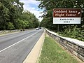2019-09-08 14 10 02 View north along Maryland State Route 295 (Baltimore-Washington Parkway) at the exit for the Goddard Space Flight Center (Employees Only) in Greenbelt, Prince George's County, Maryland.jpg