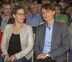 2019-09-10 SPD regional conference team Scheer Lauterbach by OlafKosinsky MG 0446.jpg