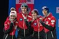 20190302 FIS NWSC Seefeld Medal Ceremony Team Austria 850 6800.jpg