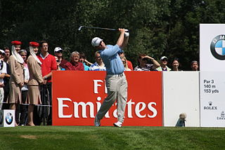 George Coetzee South African professional golfer