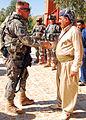 262812 Colonel Kurkuki, a battalion commander with 2nd Brigade Peshmerga in 2010.jpg