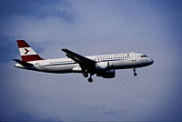 OE-LBU - A320 - Austrian Airlines