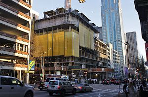 2nd and Pike - Image: 2nd & Pike under construction, Downtown Seattle (31483790023)