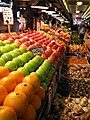 36 Pike Place Market very long display of fruits and vegetables.jpg