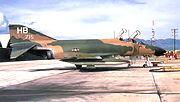 389th Tactical Fighter Squadron McDonnell F-4D-31-MC Phantom 66-7715 Phu Cat AB RVN 1969