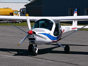 3Xtrim 3X55 Trener - 3Xtrim 3X55 taxiing, showing front view of the aircraft