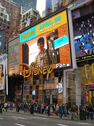 Disney Store - The Times Square store.