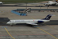 4O-AOM - F100 - Montenegro Airlines