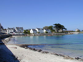 The beach at Brignogan-Plages
