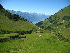 Brienzer Rothorn - Image: 5938 Brienz Brienz Rothorn Bahn