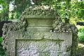 598683 Wrocław Cmentarz żydowski, nagrobki 11.JPG