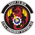 676 Armament Systems Sq emblem.png