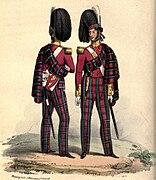 72nd Foot uniform
