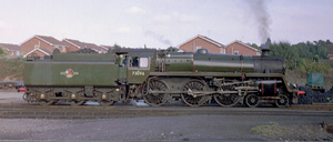 BR Standard Class 5 73096 - 73096 at the Severn Valley Railway in 2003