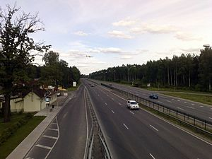 Transport in Latvia - Image: A10Latvia
