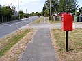 A144 Norwich Road and Mount Pleasant Postbox - geograph.org.uk - 1471774.jpg