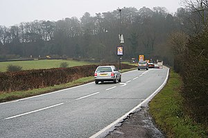 A606 road - Broughton Hill