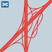 """Spaghetti-Knot"" motorway junction"