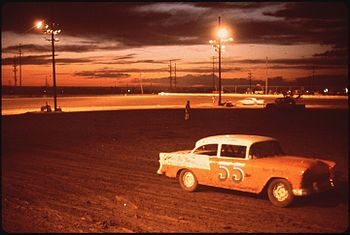 ALBUQUERQUE SPEEDWAY PARK, ONE OF THREE STOCK ...