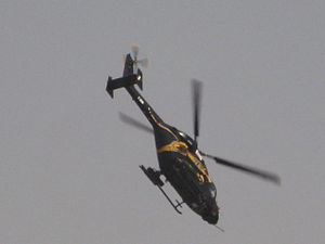 HAL Rudra - The prototype Dhruv-WSI performing at Aero India 2009