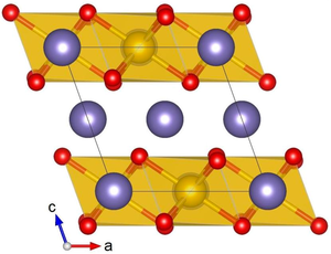 Lithium platinate - Image: A Li 2Ir O3 str 1