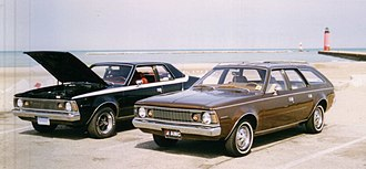 AMC Hornet - 1971 2-door sedan and 1972 Hornet Sportabout
