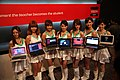 AMD promotional models at Computex 20110530a.jpg