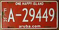 ARUBA 2011 -LICENSE PLATE - Flickr - woody1778a.jpg