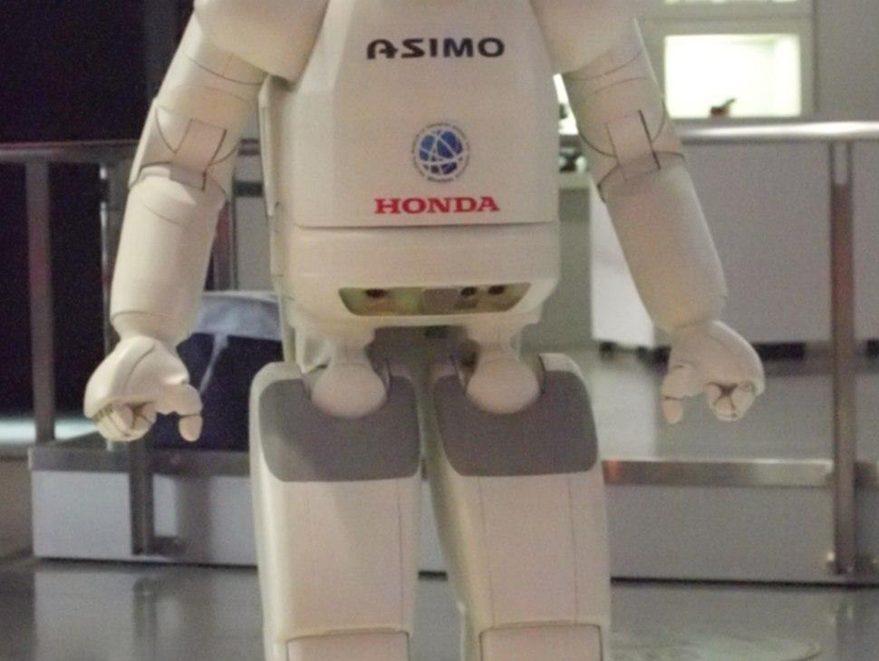 ASIMO ground and ultrasonic sensors