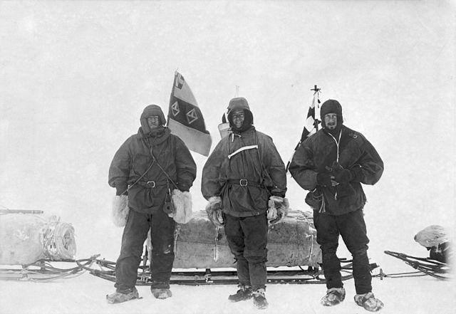 שקלטון, סקוט ווילסון במסע הראשון שלהם אל הקוטב הדרומי, במשלחת 'דיסקברי' (ויקיפדיה) - הפודקאסט עושים היסטוריה עם רן לוי